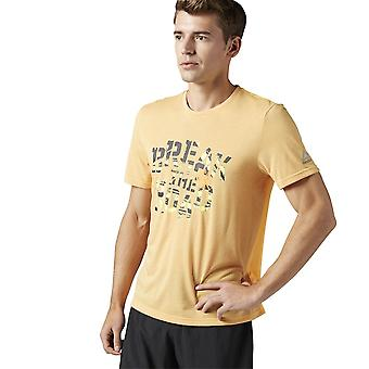Reebok RE SS Tee BK7284 universal alle år menn t-skjorte