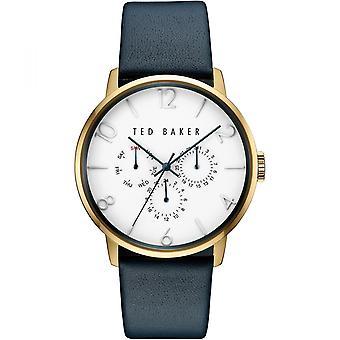 Ted Baker Blue Gold Herre Gents armbåndsur 10030764