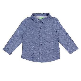 Lily Balou shirt Lucas Texture Blue