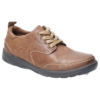 Hush Puppies Mens Apollo Lace Up Schoen Brown