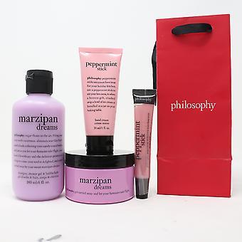 Philosophy Marzipan Dreams 4 Pcs Set  / New With Bag