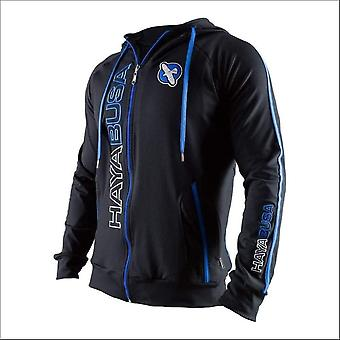 Hayabusa prime hoodie - blue - size small