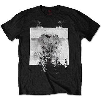 Slipknot Devil Single BW Print Dziennik Koszulka T-Shirt Mens Unisex