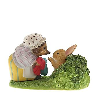 Beatrix Potter Mrs. Tiggy-Winkle palaavat Peters pelletty Takki Collector&s Figurine - Boxed