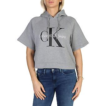 Calvin Klein Original Women Fall/Winter Sweatshirt - Grey Color 38181