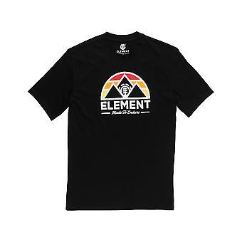 Element Squaw Lyhythihainen T-paita Flint Musta