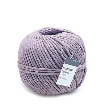 Vivant Macrame cord cotton 150m x 5mm - lilac