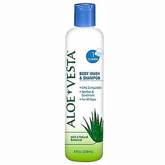 Aloe vesta body wash & shampoo, 1 cleanse, 8 oz
