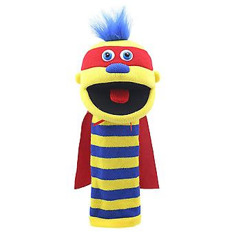 Puppet yritys Sockettes Zap Monster-Käsinukke