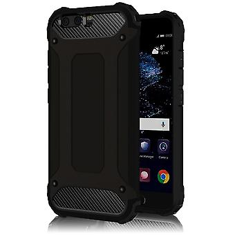 Shell pour Huawei P10 Plus Hard Armor Protection Black TPU Case