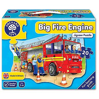 Orchard Toys Big Fire Engine Puzzle