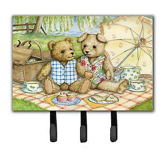 Summertime Teddy Bears Picnic Leash or Key Holder