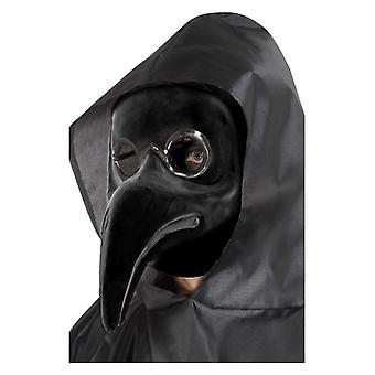Herre pest læge maske fancy kjole tilbehør