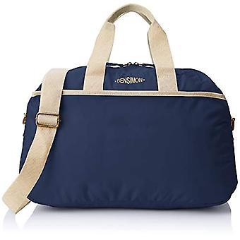 Bensimon Sport Bag - Woman - Blue (Marine) - 12x28x45 cm (W x H L)
