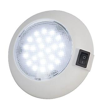TechBrands Dome Type LED Light and Switch (115mm)