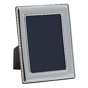 Orton West Detailed Edge Photo Frame 5x7 - Silver