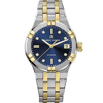 Maurice Lacroix AI6006-PVY13-450-1 Aikon Automatic Blue Dial Wristwatch