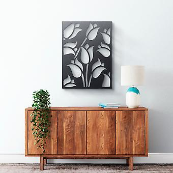 Metal Wall Art - Tulips