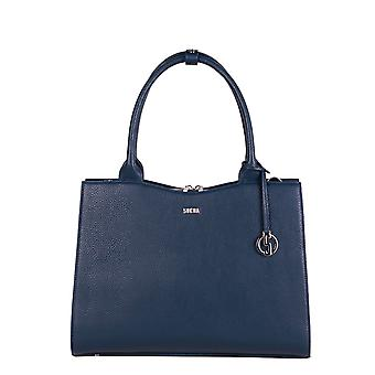 SOCHA Women's Handbag Straight Line Midi 39 cm, Blue