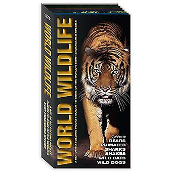 World Wildlife - A Set of Six Pocket Guides to Some of the World's Mos