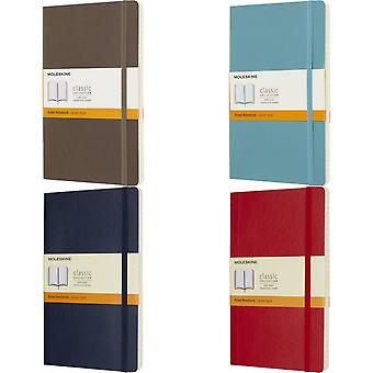 Moleskine Classic L Soft Cover Ruled Notebook