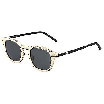 Earth Wood Kavaja Polarized Sunglasses - Ice Tree/Black