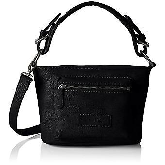 Fritzi aus Preu_en Black Woman Handbag (Black-Be 401)) 12x19x28 cm (B x H x T)