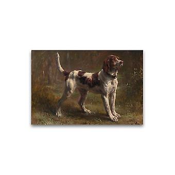 Hound Dog Rosa Bonheur Plakat -Bilde av Shutterstock