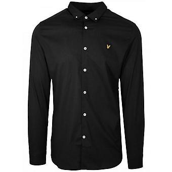 Lyle & Scott Black Long-Sleeve Shirt