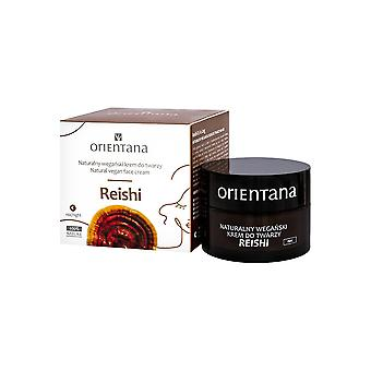 Natural Vegan Face Cream Reishi For Night, 50 Ml