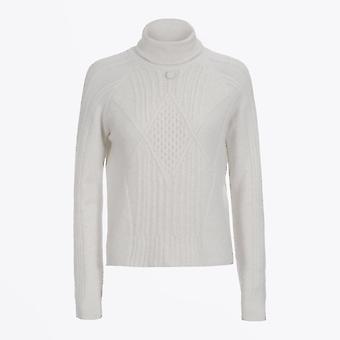 HIGH  - Purity - Alpaca Roll Neck Sweater - Pale Grey
