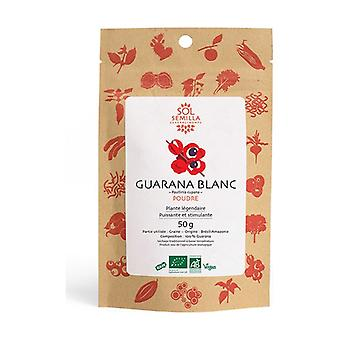 Guarana White organic powder 50 g of powder