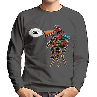 Marvel Deadpool Diretor Shouting Cut Men 's Sweatshirt