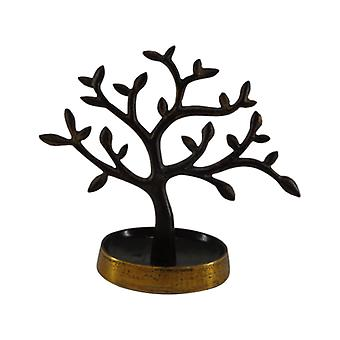 Jewelry Tree Brown Gold