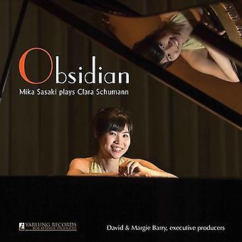 Brahms / Sasaki / Iivonen - Obsidian: Sasaki Plays Schumann [CD] USA import