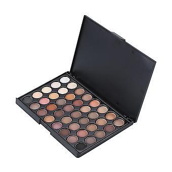 Pressed Glitter Matte Eyeshadow Pallete Waterproof Long Lasting Pigment Makeup