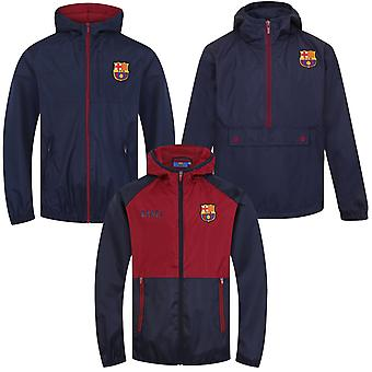 نادي برشلونة لكرة القدم الرسمية هدية الأولاد دش سترة Windbreaker