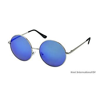 Solglasögon Unisex silver/blå (20-109)