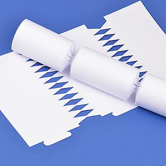 100 Basic White Make & Fill Your Own DIY Recyclable Christmas Cracker Boards