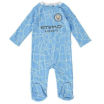 Manchester City FC Baby Kit Sleepsuit | 2020/21