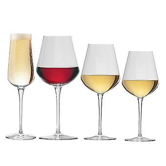 Bormioli Rocco Inalto Uno S / M / L Wine Glasses & Champagne Flute - Set of 24