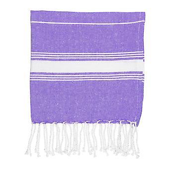 Nicola Spring Children's Turkse katoenen handdoek | Strandbad zwemmen | Hammam Peshtemal Fouta Style - Paars