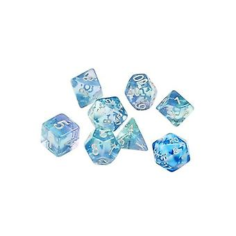 Emerald Waters Poly Set - Sirius Dice