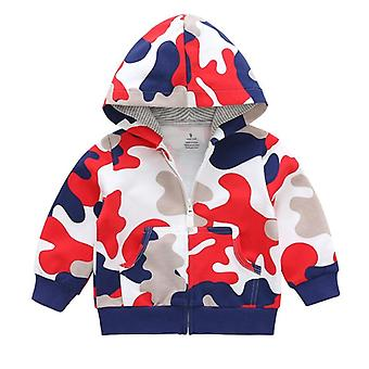 Kids Toddler Baby, Winter Hooded Sweatshirt, Long Sleeves
