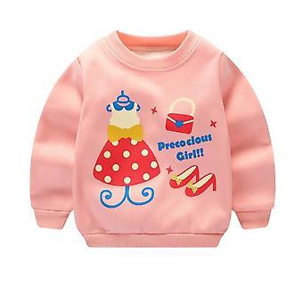 בייבי בוי ילדים סתיו מעילים טי שירט - Camiseta Roupas Infantis Menino מיקי סווטשירטים