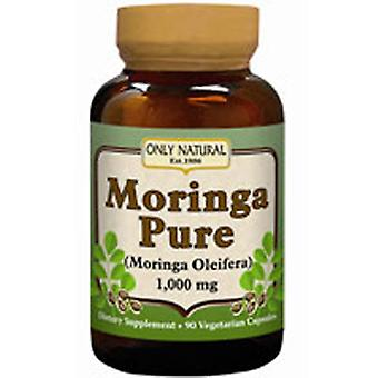 Only Natural Moringa Pure, 90 Caps
