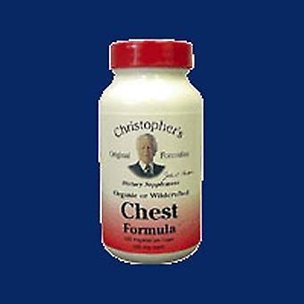 Dr. Christophers Formulas Chest Formula, 100 Vegicaps