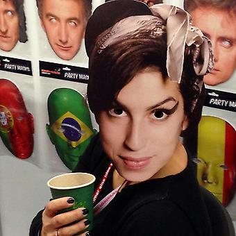 Máscara-arade Amy Winehouse Celebridades Máscara de Cara de Fiesta