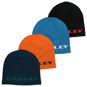 Oakley Mens Rock Side Acryl Fijne Maat Brei regelmatig Fit Beanie Hat