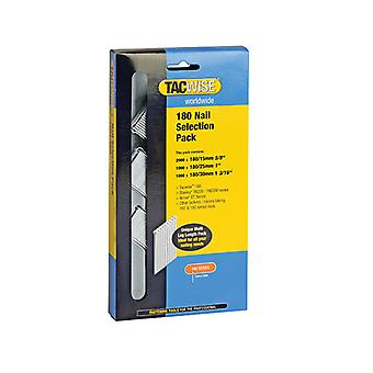 Tacwise 180 18 Gauge Nail Selection Pack 4000 TAC0205
